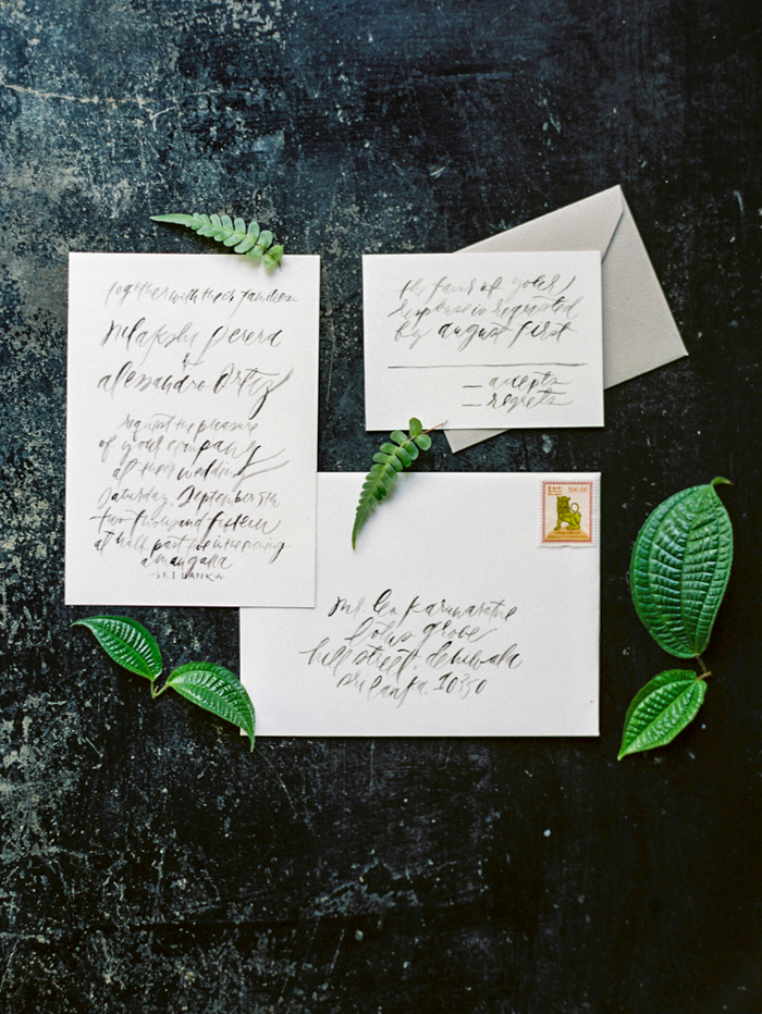 Tropical garden destination wedding inspiration / photography: jasminepettersen.com